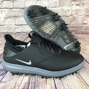 NIKE Air Zoom Direct Black Golf Shoes Mens WIDE